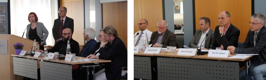 Mitglieder der Arbeitsgruppe BORA bei der Auftaktveranstaltung am 15.04.2015: Barbara Müller-Simon/DRV Bund, Dr. Volker Weissinger/FVS, Denis Schinner/Fachklinik Release/DHS, Gerhard Eckstein/DRV Schwaben, Peter Missel/AHG Kliniken Daun/FVS, Georg Wiegand/DRV Braunschweig-Hannover, Uwe Hennig/DRV Bund, Dr. Theo Wessel/GVS/DHS, Dr. Andreas Koch/buss/DHS, Dr. Dietmar Kramer/salus klinik Friedrichsdorf/FVS, Dr. Joachim Köhler/DRV Bund (v.l.n.r.) – Fotos©Bildarchiv DRV Bund/Terbach